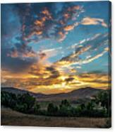 Light Over Hollenbeck Canvas Print