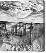 Light Over The Dunes Canvas Print
