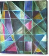 Light Patterns 2 Canvas Print