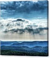Light Rains Down Canvas Print