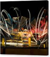 Light Spin Canvas Print