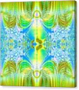 Light Through The Curtains Canvas Print