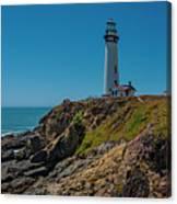 Light Tower Panoramic Canvas Print