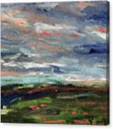 Light Upon The Marsh Canvas Print