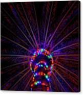 Lighted Palm Canvas Print