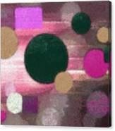 Lighted Way Canvas Print