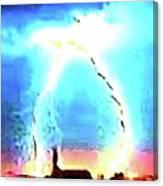 Lightening Strike Canvas Print