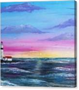 Lighthouse  5 Canvas Print