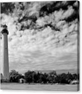 Lighthouse And Sky Canvas Print
