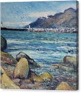 Lighthouse At Kalk Bay Cape Town South Africa 2016 Canvas Print