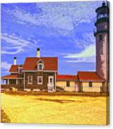 Lighthouse Cape Cod Canvas Print