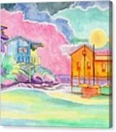 Lighthouse Cove Canvas Print