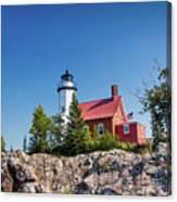 Lighthouse Eagle Harbor Lake Superior -6533 Canvas Print