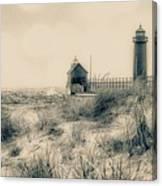 Lighthouse Fade Canvas Print