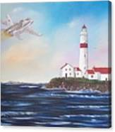 Lighthouse Fly By Canvas Print