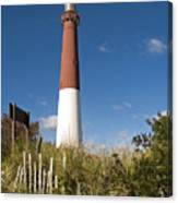 Lighthouse From Dunes Canvas Print