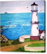 Lighthouse Glory Canvas Print