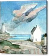 Lighthouse Harbour 3 Canvas Print