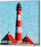 Lighthouse - Id 16217-152045-8706 Canvas Print