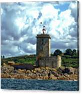 Lighthouse Ile Noire Canvas Print