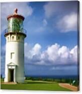 Lighthouse Impression Canvas Print