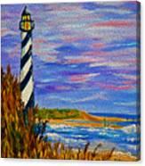 Lighthouse- Impressionism- The Coast Canvas Print