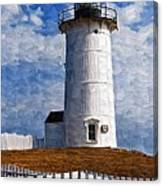 Lighthouse Keepers Dwelling Canvas Print