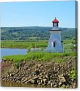 Lighthouse Landscape Canvas Print