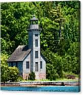 Lighthouse Munising Bay Canvas Print