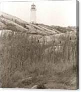 Lighthouse Nova Scotia Canvas Print