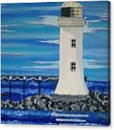 Lighthouse On The Shannon Canvas Print