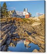 Lighthouse Reflection Canvas Print