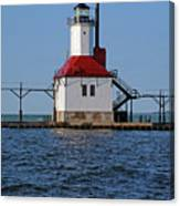 Lighthouse Restored Canvas Print