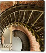 Lighthouse Stairs Cape Blanco Oregon 2 Canvas Print
