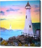 Lighthouse Study Canvas Print