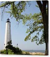 Lighthouse Summer Canvas Print