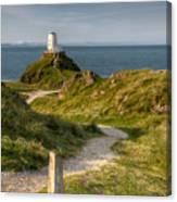 Lighthouse Twr Mawr Canvas Print