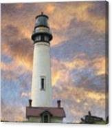 Lighthouse Visitors Canvas Print