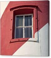 Lighthouse Window Canvas Print