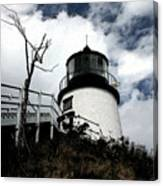 Lighthouse With Twist Canvas Print