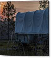 Lighting The West  Canvas Print
