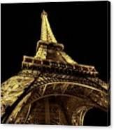 Lighting The World Of Paris Canvas Print