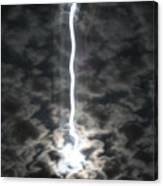 Lightning Moon Canvas Print