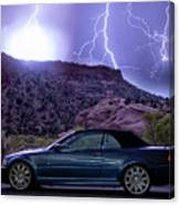 Lightning Storm Canvas Print