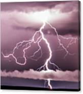 Lightning Strikes Canvas Print