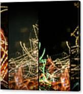 Lightpainting Quads Art Print Photograph 5 Canvas Print