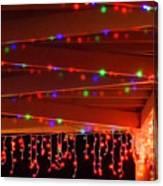 Lights At Christmas Canvas Print