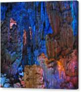 Lights In A Cave Canvas Print