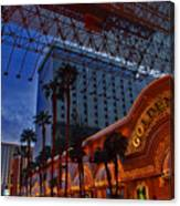 Lights In Down Town Las Vegas Canvas Print