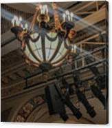Lights Of Broadway Canvas Print